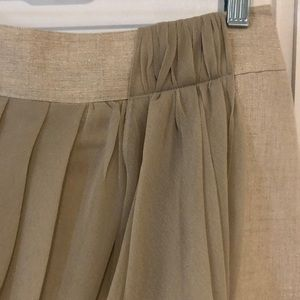 Anthropologie Skirts - Anthropologie gold skirt